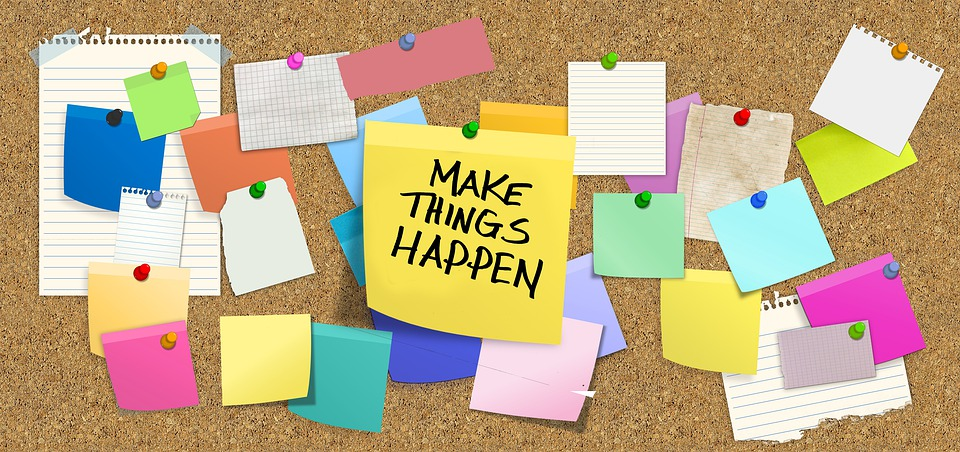 Write Things Down – Make Things Happen!